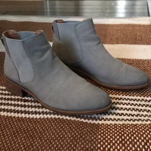 Caslon grey booties-worn less than 5x's